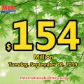 Mega Millions jackpot grows to $154 millions