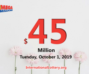 Results of Sept 27, 2019: Mega Millions jackpot raises to $45 million