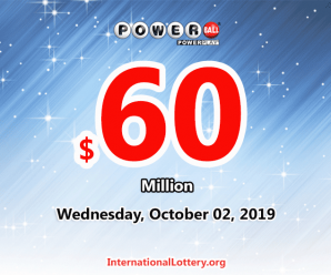 Powerball results for 19/09/28: Jackpot is $60 million