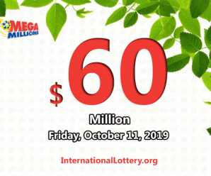 One player won $3 million; Mega Millions jackpot increases to $60 million