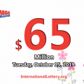 Mega Millions stands at $65 million: 2 players won the second prizes