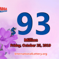 Results of October 22, 2019; Mega Millions rewarded $5 million to two lucky players