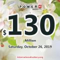 Two-man won $3 million; Powerball jackpot spins to $130 million