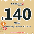 Powerball results for 19/10/26: One Louisiana player won $2 million