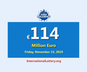 EuroMillions Lotteryis the second-largest jackpot in the world with €114 million euro