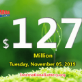 One New York player won $2 million Mega Millions on November 01, 2019