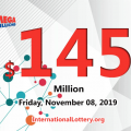 Mega Millions results for 2019/11/05: Jackpot stands at $145 million