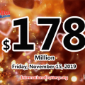 No Mega Millions winner; Friday jackpot stands at $178 million