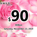 Powerball jackpot climbs to $90 million for Nov 23, 2019