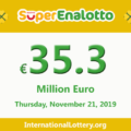 Jackpot SuperEnalotto is becoming hotter with 35.3 million Euro