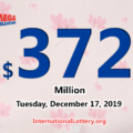 Mega Millions jackpot is waiting the owner, It is $372 million now