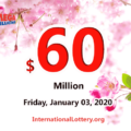 Results of December 31, 2019: Mega Millions jackpot raises to $60 million