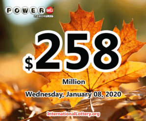$6 million belonged to 3 players; Powerball rolls over to $258 million