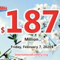 Three players won the first prizes; Mega Millions jackpot rises to $187 million