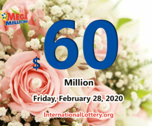 Mega Millions results for 2020/02/25: Jackpot stands at $60 million