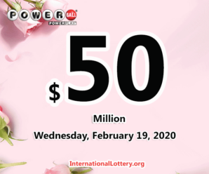 Powerball results for 2020/02/15: Jackpot is $50 million