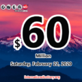 Powerball results of February 19, 2020: One California player won the second prize
