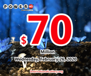 Powerball results for 2020/02/22: Two players won million dollars