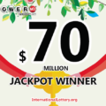 It's amazing, $70 million jackpot of Powerball lottery found the owner