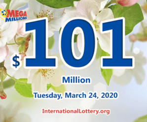 Mega Millions jackpot is waiting the owner, It is $101 million now