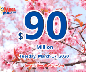 Mega Millions jackpot grows to $90 millions on March 17, 2020