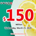 One Florida player won $1 million, Powerball jackpot is $150 million now