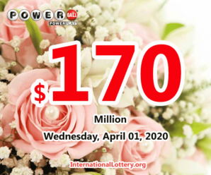 Powerball results of March 28, 2020: Jackpot raises to $170 million
