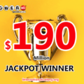 $190 million found the owner – The second Powerball jackpot of 2020 exploded
