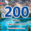 Mega Millions results of April 28, 2020, Jackpot is at $200 million