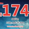 2 winners got $4 million; Mega Millions jackpot raises to $174 million