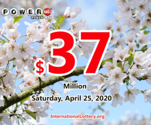 Powerball jackpot climbs to $37 million for April 25, 2020