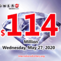 Powerball results for 2020/05/23; Jackpot is up to $114 million