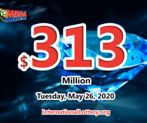 The results of Mega Million on May 22, 2020; Jackpot is hot with $313 million