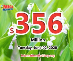 Four new millionaires; Mega Millions jackpot jumps to $356 million