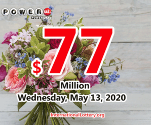 Powerball results for 2020/05/09: One player won million dollars
