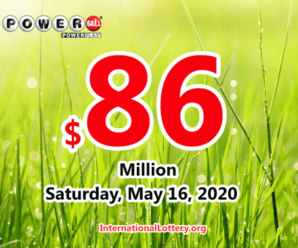 Result of Powerball on May 13, 2020: A player won $2 million