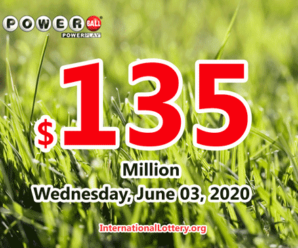 Powerball results of May 30, 2020: Jackpot raises to $135 million