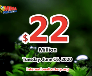 Mega Millions results for 2020/06/12: Jackpot stands at $22 million