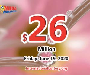 Results of June 16, 2020: Mega Millions jackpot raises to $26 million