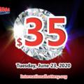 Who will win the next $35 million Mega Millions jackpot on June 23, 2020?