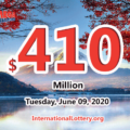 Mega Millions rewared 3 millions prizes; Jackpot raises to $410 million