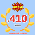 $410 million Mega Millions jackpot found out the owner; many other prizes appeared