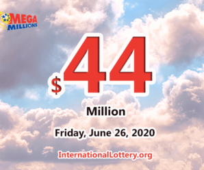 A Virginia player won $1 million with Mega Millions; Jackpot increases to $44 million