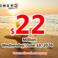 The result of Powerball of America on June 06, 2020