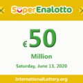 Results of SuperEnalotto lottery on June 11, 2020; Jackpot raises to 50 million Euro