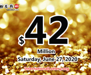 The result of Powerball of America on Wednesday, June 24, 2020