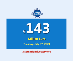 Euro Millions Lottery is the biggest jackpot in the world with €143 million euro