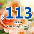 Who will win the next $113 million Mega Millions jackpot on July 21, 2020?