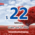 Mega Millions results for 2020/07/28: Jackpot stands at $22 million