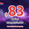 Mega Millions results of July 07, 2020, Jackpot is at $83 million